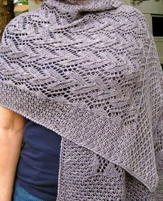 """Knitting Pattern for Love Mother Nature Lace Shawl - The stitches used in this wrap are named """"berries"""" and """"twigs"""", Both are charted and written out line by line. http://www.awin1.com/cread.php?awinaffid=234273&awinmid=6220&p=https%3A%2F%2Fwww.etsy.com%2Flisting%2F246496439%2Fknit-wrap-pattern-love-mother-nature"""