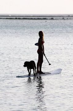 paddle boarding - want to try it with Tahoe