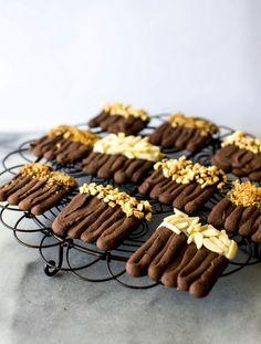 butter and brioche | Pierre Herme's Viennese Chocolate Sables | http://www.butterandbrioche.com