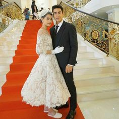 Young Fashion, Sweet Couple, The Crown, Celebrity Couples, Actors & Actresses, Thailand, Weddings, Princess, Stars