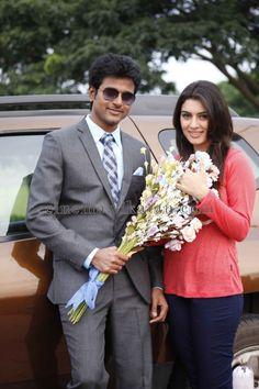 Hansika Motwani and Siva Karthikeyan in Maan Karate Movie
