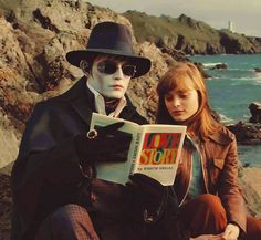 Johnny Depp in Dark Shadows, good movie.