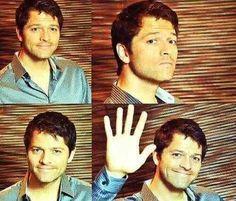 """Oh. Hi.""  - Misha Collins"