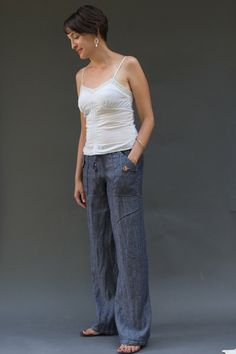 Oceanside Pants and Shorts PDF Sewing Pattern for women by BlankSlatePatterns on Etsy https://www.etsy.com/ca/listing/205545001/oceanside-pants-and-shorts-pdf-sewing