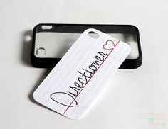 iPhone 4/4s Insert One Direction Directioner Inspired on Etsy, $2.75