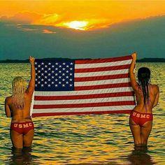 "americanwoman: ""🌟American USMC Women🌟 """