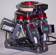 A Miniature 7 Axis CNC hexapod machine