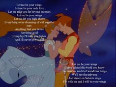 Let Me Be Your Wings ~ One of my favorite songs!