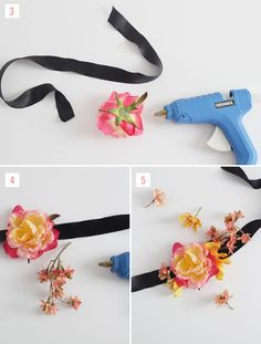 Diy silk flower corsage pinterest flower corsage silk flowers diy silk flower headband mightylinksfo