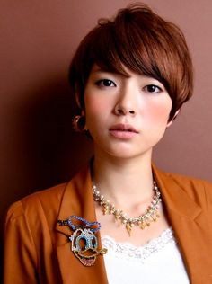 Trendy Short Japanese Haircut 2013