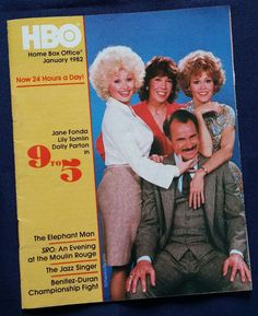 XLNT 1982 DOLLY PARTON Fonda Tomlin Jan HBO Home Box Office Cable TV Guide 9to5 | Entertainment Memorabilia, Television Memorabilia, Merchandise & Promotional | eBay!