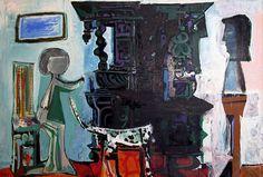 """Pablo Picasso - """"Buffet Vauvenargues"""", 1959"""