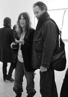 Patti Smith and Sam Shepard @ 2011