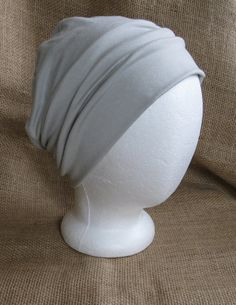 Bambou été chimio Cap - chimio Sage Pastel doux Hat Womens Cancer couvre-chefs et Slouch Beanie