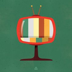 Retro Television by Micah Lindenberger
