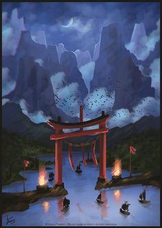 The gate by Jessica-Prando.deviantart.com on @DeviantArt