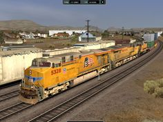trains images   Train fans can engineer historic and contemporary trains in Rail ...