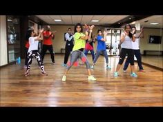 Zumba Fitness - 50 Minutes Zumba Dance Aerobic Workout to Burn 1000 Calories - YouTube
