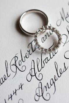 Handwriting- invites