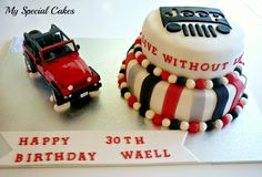 My Special Cakes Birthday Cakes For Men, Cakes For Boys, 16th Birthday, 40th Bday Ideas, Birthday Ideas, Jeep Cake, Cakes Sydney, Sweet 16 Cakes, Novelty Cakes