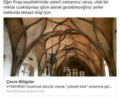 Prag'da gezilebilecek çevre bölgeler ile ilgili tüm ayrıntılar için;