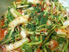 열무김치 쉽게 담는 요령 – 레시피 | Daum 요리 Korean Dishes, Korean Food, Kimchi Recipe, Asian Snacks, Asian Recipes, Ethnic Recipes, Food Menu, Food Design, Food To Make