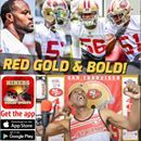 Download the Ronbo Sports app to join the show Watch Youtube live: https://youtu.be/nyezwnDLyxM Starting at 7:00 PM PDT Navorro Bowman leads Malcolm Smith, Ahmad Brooks and rookie sensation Reuben Foster into the the undeniable position of being recognized as one of the finest linebacker assemblies in the NFL to top 49ers headlines in this last week in June. Thank you Willie McGinest!  There still seems to be some questions about Navarro Bowman at the new position by some however including…