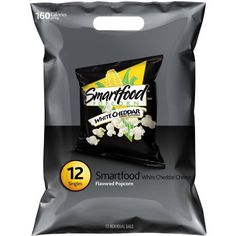 Smartfood White Cheddar Cheese Flavored Popcorn, 12pk White Cheddar Popcorn, Cheese Popcorn, White Cheddar Cheese, Flavored Popcorn, Quick Snacks, Party Snacks, Snack Recipes, Lunch Box, Chips
