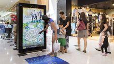 Australia's oOh!media launching new interactive retail digital signage screens | Digital Signage Today