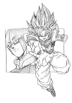 """Hired to Kill."" Drawn by: Young Jijii. Found by: Son Goku (Kakarot)!"