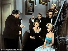 Hollywood royalty: Celeste Holm in the 1950 film 'All About eve' with Gary…