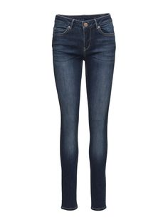 DAY - Sally Midnight Button and zip closure Logo detail Subtle fading Classic 5 pocket styling Skinny fit Stretch fabric Classic Excellent quality and fit Timeless Jeans Skinny Fit, Sally, Stretch Fabric, Indigo, Closure, Pocket, Zip, Button, Logo