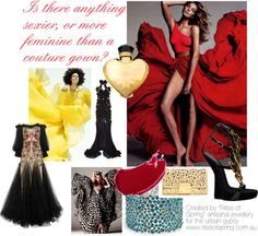 """Couture Gown"" by nikkisg on Polyvore"