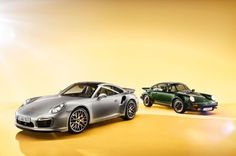 2014 Porsche 911 Turbo and 1973 Porsche 911 Turbo - Automobile Magazine