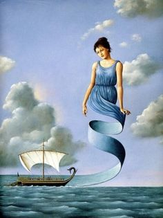 When you are able to move beyond your False Self - at the right time and in the right way - it will feel precisely as if you have lost nothing. In fact, it will feel like freedom and liberation. Rohr | Art: Rafal Olbinski. ☀