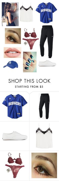"""""""Camp out with the sandlot boys"""" by smollllbeannnn ❤ liked on Polyvore featuring NIKE, Keds, The Kooples, La Perla and Jouer"""