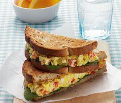 Coronation Egg Salad Sandwich - Eat. Fit. Fuel.