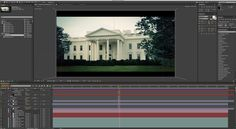 Comping the scene in After Effects with object buffers and adding color correction with Red Giant Magic Bullet Looks.