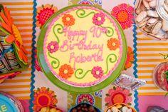 Garden Party for 90th Birthday #garden #party