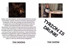 Game Of Thrones Jokes, Game Of Thrones Episodes, Game Of Thrones Art, Tyrion Lannister Book, Jaime Lannister, Valar Dohaeris, The North Remembers, Fire Book, The More You Know