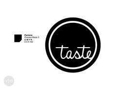 Taste - brand identity manual by Veronica Duriavig, via Behance.