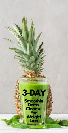 Here is a powerful 3-day smoothie detox cleanse for weight loss that you can make at home using only natural ingredients! This detox cleanse will help remove harmful toxins from your body, speed up your metabolism, increase your energy levels and help you lose weight very fast. 3 Day Smoothie Detox, Detox Cleanse Drink, Detox Drinks, Healthy Diet Tips, Healthy Detox, Easy Detox, Fat Burning Smoothies, Fat Burning Drinks, Fat Burning Tips