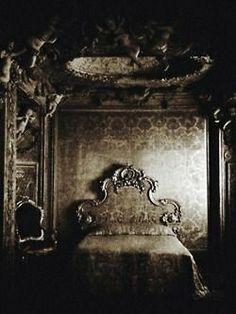 Gothic interior.