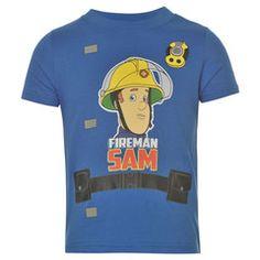 FIREMAN SAM ~ Blue T-Shirt