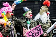 Clandestine Insurgent Rebel Clown Army CIRCA