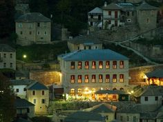 Syrrako Syrrako This stone-built guesthouse is located in the mountain village of Syrrako, in Tzoumerka area. It offers rooms with panoramic village views, and features a traditional restaurant. Free WiFi is available in public areas.