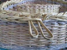 Мастер-класс Материалы и инструменты Плетение И снова загибка с петелькой   Трубочки бумажные фото 8