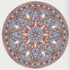 Magical Mandalas 014 done with pencils Creative Haven Coloring Books, Mandala Coloring Pages, Book Binding, Gel Pens, Geometric Art, Adult Coloring, Zentangle, Favorite Color, Drawings