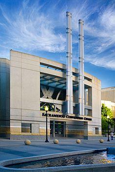 The Sacramento Community Center in downtown Sacramento.