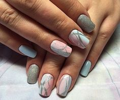 They allow to display a manicure impeccable during several weeks and to play with the form and the length of our nails. In the the laying… Continue Reading → Cute Nails, Pretty Nails, My Nails, Colorful Nail Designs, Best Nail Art Designs, Perfect Nails, Gorgeous Nails, Manicure, Nail Polishes